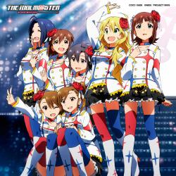劇場版『THE IDOLM@STER MOVIE 輝きの向こう側へ!』主題歌 M@STERPIECE - Single. Передняя обложка. Click to zoom.