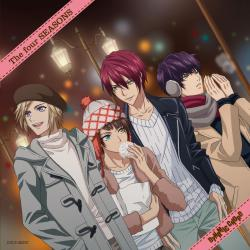 TVアニメ「DYNAMIC CHORD」The four SEASONS. Передняя обложка. Click to zoom.