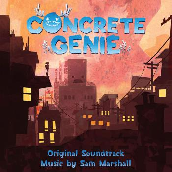 Concrete Genie Original Soundtrack. Front. Click to zoom.