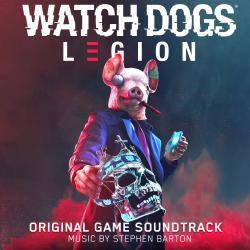 Watch Dogs : Legion Original Game Soundtrack. Передняя обложка. Click to zoom.