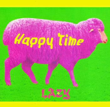 Happy Time / LAZY. Front. Click to zoom.