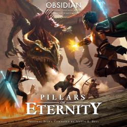 Pillars of Eternity Deluxe Edition Original Soundtrack. Передняя обложка. Click to zoom.