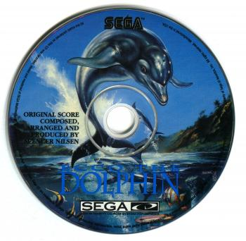 Ecco the Dolphin Soundtrack. Disc. Click to zoom.