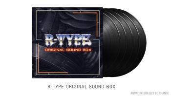 R-TYPE ORIGINAL SOUND BOX. Front (sample). Click to zoom.