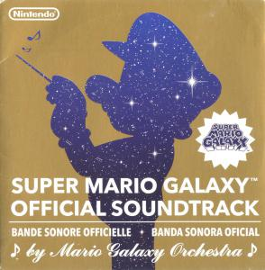 SUPER MARIO GALAXY OFFICIAL SOUNDTRACK. Лицевая сторона . Click to zoom.