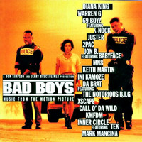 Bad Boys Music from the Motion Picture. Передняя обложка. Click to zoom.